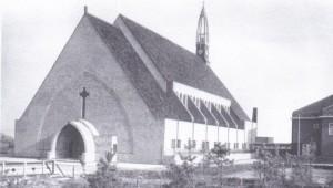 De 'Fab & Seb', zoals de kerk in de volksmond werd genoemd, het centrum van de gemeenschap